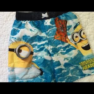 Other - Minions Boys Swim Trunks
